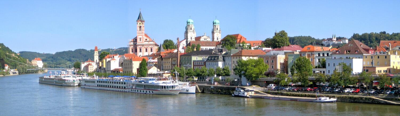Passau Panorama, Copyright: Aconcagua / CC-BY-SA-3.0