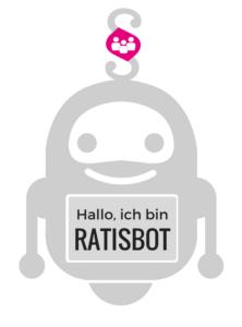 Chatbot RATISBOT Logo