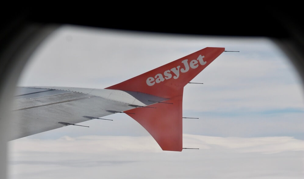 easy jet Flugzeug